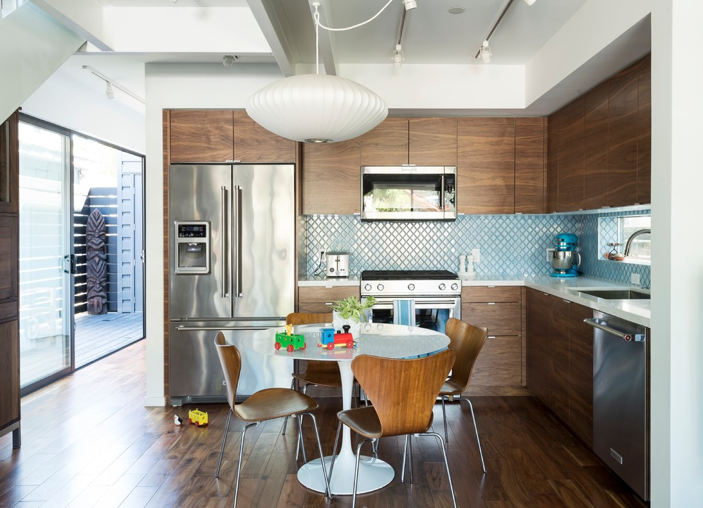 Santa Monica Connect 4 2 Beach Style Kitchen Los Angeles By Connect Homes Houzz