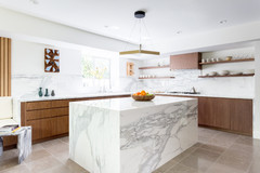 Kitchen Countertop Design: What is a Waterfall Counter?