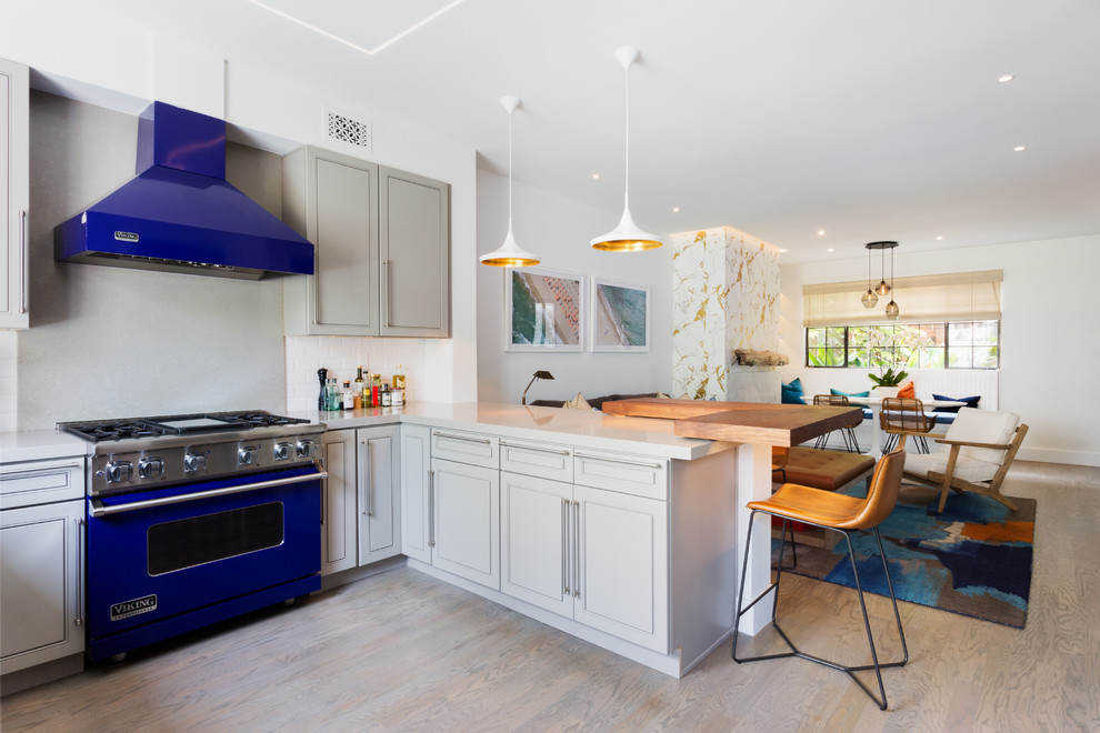 Santa Monica Townhouse Beach Style Kitchen Los Angeles By User
