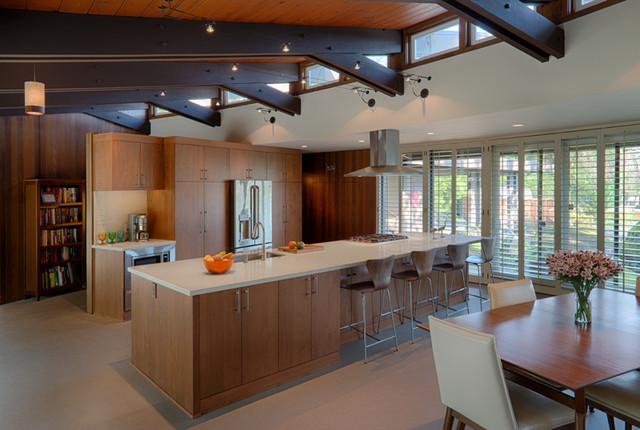 Santa Rosa Kitchen Remodel midcentury-kitchen