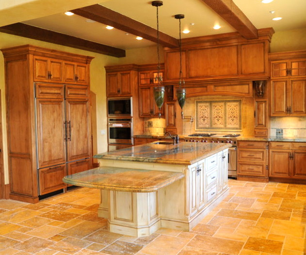 Santa Rosa Valley Rustic Italian Rustic Kitchen Other Metro By Johnston Design Group