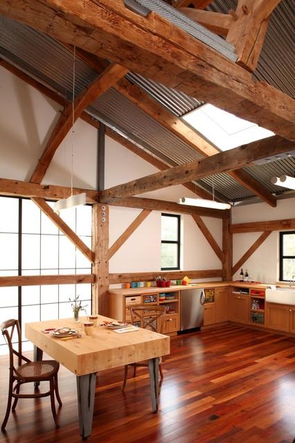 Santa Ynez Barn Farmhouse Kitchen