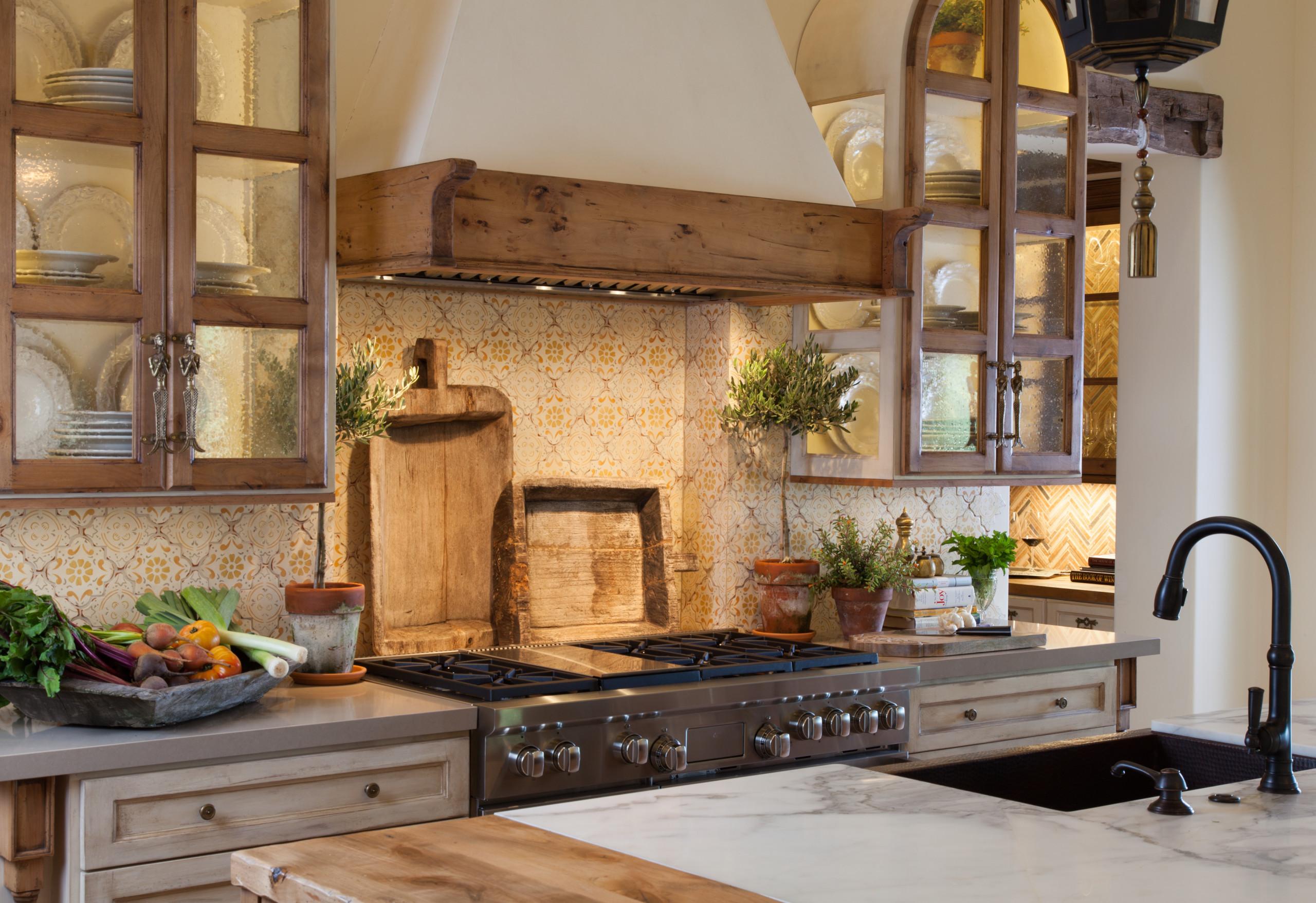 Santaluz Italian Farmhouse Custom Kitchen Remodel