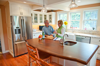Sarah steinberg custom designs traditional kitchen portland maine by steinberg custom - Kitchen design portland maine ...