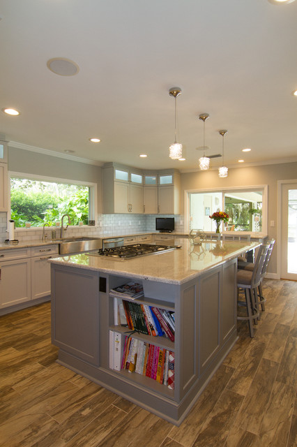 Transitional Style Sarasota Kitchen And Butler Pantry Transitional Kitchen Tampa By