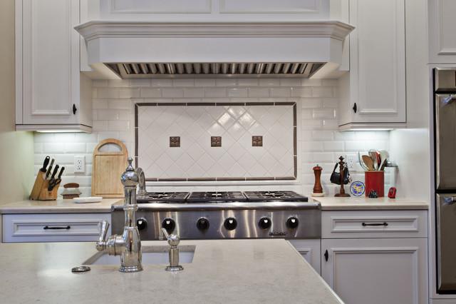 Saratoga Farmhouse Custom Home farmhouse-kitchen