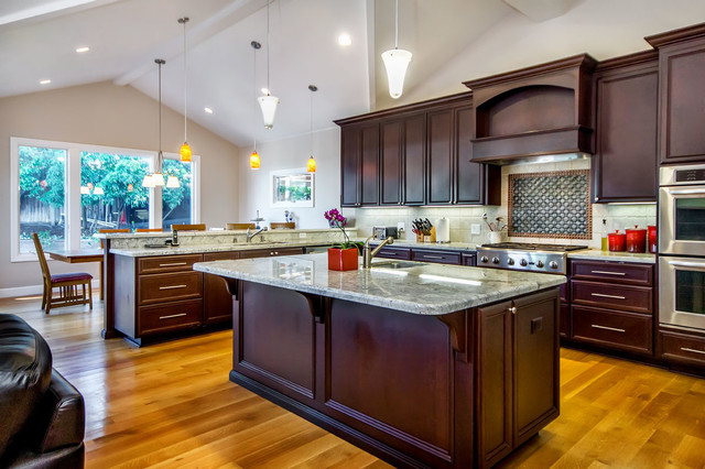 Saratoga Ranch Remodel traditional-kitchen