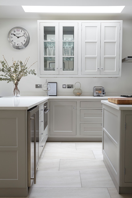 Sarsfeld Road SW12 transitional-kitchen