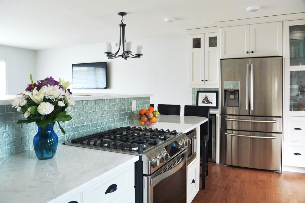 Saskatoon, Renovation - Legacy - Contemporary - Kitchen ...