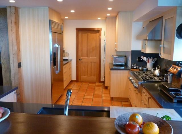 Sausalito Bamboo Kitchen on the Bay (RJK) modern-kitchen