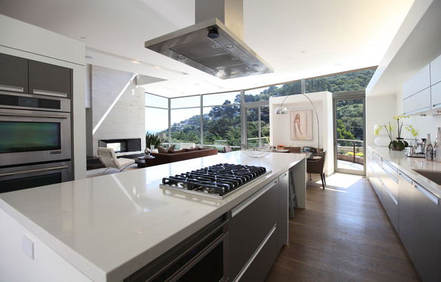 Modern American Architects sausalito residence, jay behr design and ewald tajbaksh