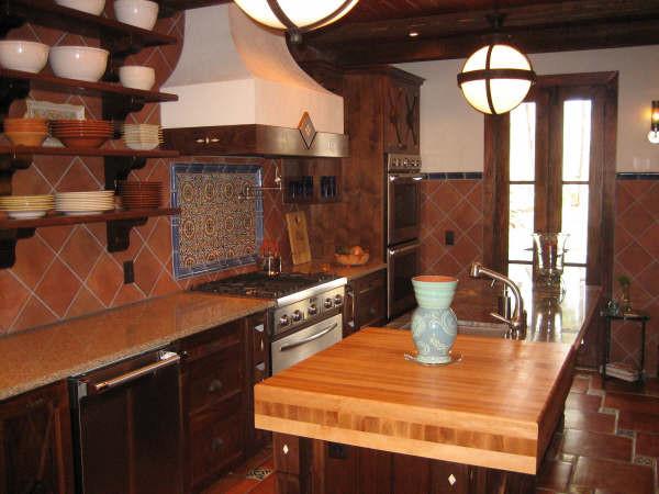 Savannah, GA with Guenzi-Vargas Studios mediterranean-kitchen