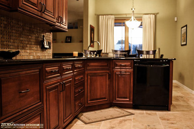 Savino Cabico Zelmar Home Remodel Traditional Kitchen Orlando By Zelmar Kitchen