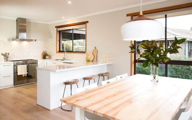 scandi kitchen on kinnane - contemporary - kitchen - toronto - by ... - Küche Toronto