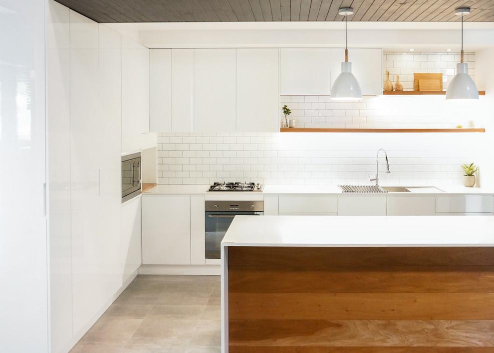 Scandinavian Kitchen, Mayfield - Scandinavian - Kitchen ...