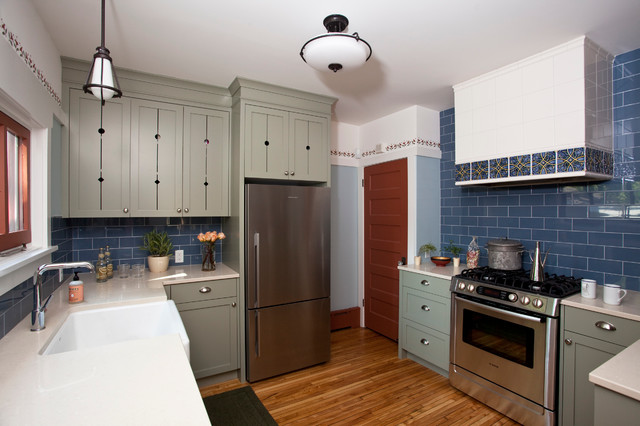 scandinavian kitchen - american traditional - kitchen