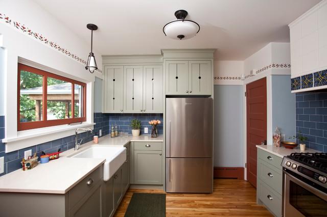 Scandinavian kitchen traditional kitchen minneapolis for Interior design kitchen traditional