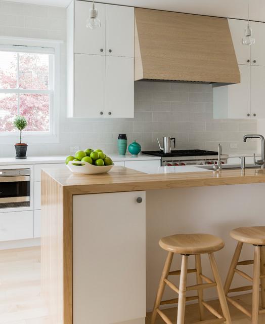 Scandinavian Modern Cottage Kitchen