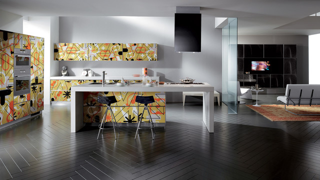 Scavolini Crystal Kitchens Contemporary Kitchen