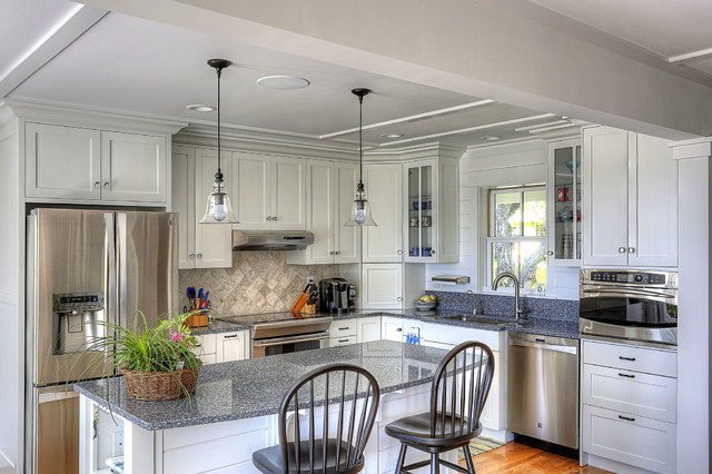 Scenic Retreat On Niantic Bay Beach Style Kitchen By Celebration Green Design Build