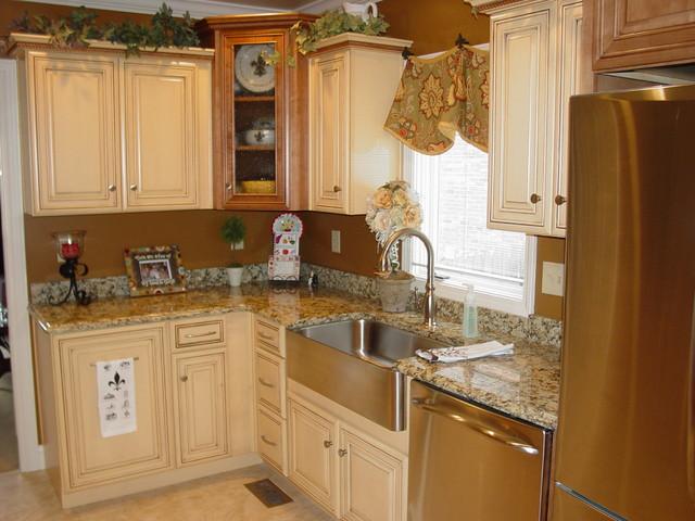 Schaaf kitchen traditional kitchen louisville by for Buttercream kitchen cabinets