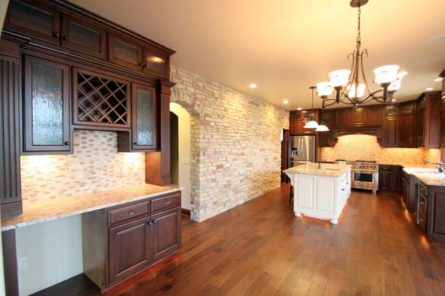 Schlecht Residence traditional-kitchen
