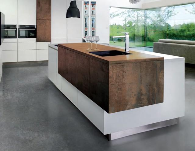 Kitchen Modern Design With No Handles