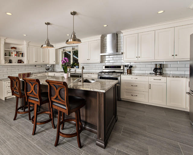 Schomberg kitchen transitional kitchen toronto by for Kitchen cabinets quakertown pa