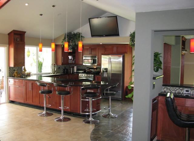 Schram Designs Contemporary Kitchen Los Angeles By Schram Designs