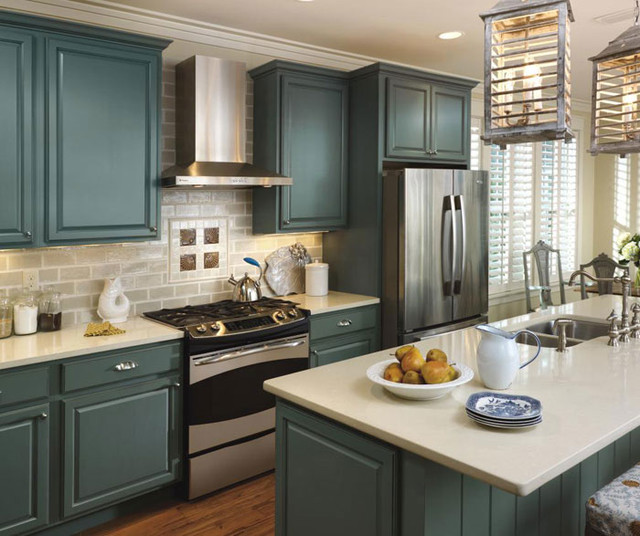 Schrock Cabinetry: Maple Oasis - Traditional - Kitchen - by Bray u0026 Scarff