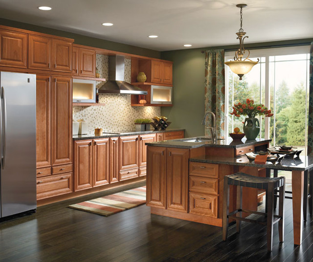 Schrock Cabinetry - Traditional - Kitchen - boston - by The Kitchen Works