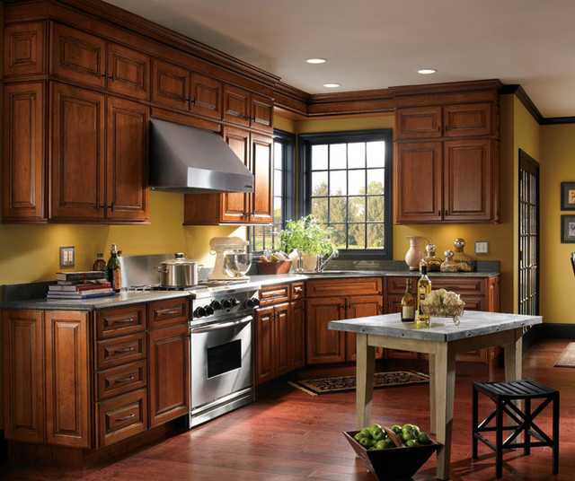 varnish for kitchen cabinets schrock cabinetry traditional kitchen boston by 27925