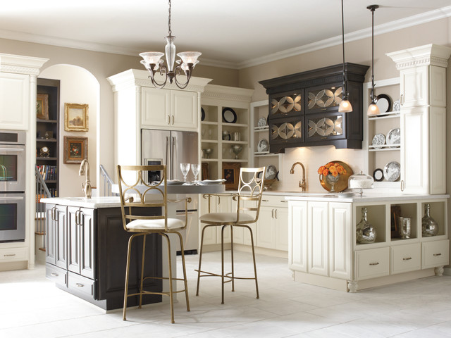 Schrock Cabinetry: Parker Maple Coconut and Storm ...