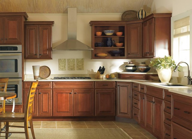 Schrock Galena Kitchen Cabinets Traditional Kitchen Other By Masterbrand Cabinets Inc