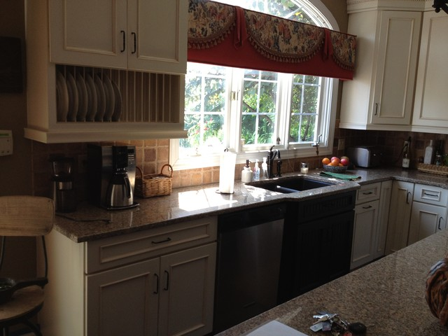 Schuler Cabinets In White Chocolate Main Heirloom Black