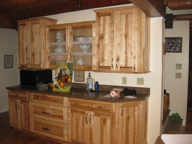 Schuler Dalton Rustic Maple In Wheat Kitchen