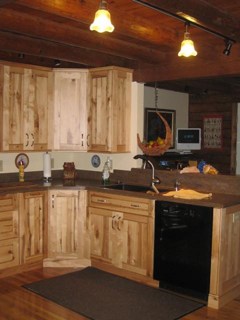 Schuler Dalton Rustic Maple in Wheat rustic-kitchen
