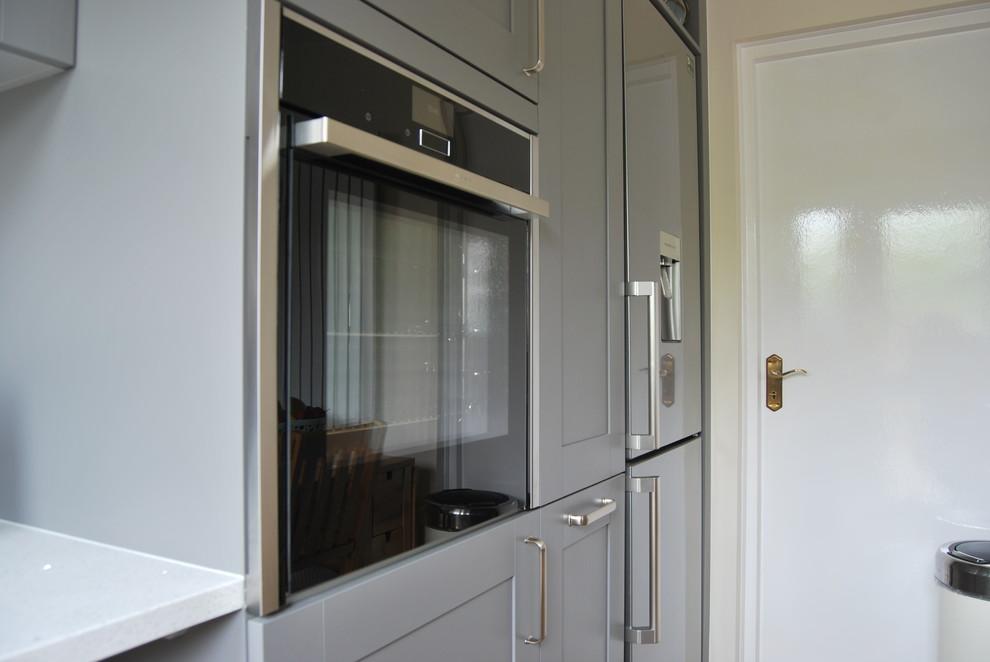 Schuller Casa Kitchen - Agate Grey - Traditional - Kitchen ...