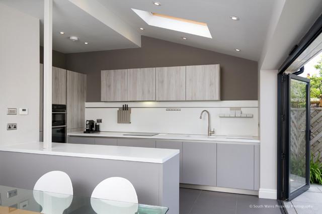 schuller kitchen penarth contemporary kitchen