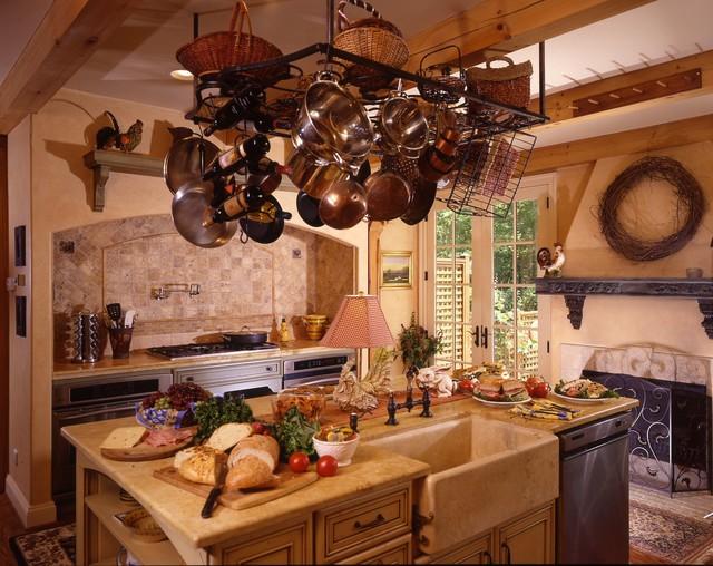 Scottsville Tuscan Cottage mediterranean-kitchen