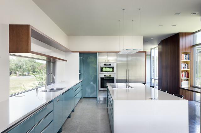 Scout Island Midcentury Kitchen Austin By Alterstudio Mesmerizing Kitchen Design Austin