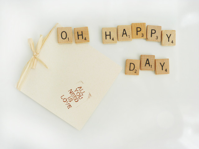 Scrabble tile magnets contemporary-kitchen