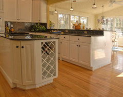 Screened Porch Becomes a Kitchen traditional-kitchen