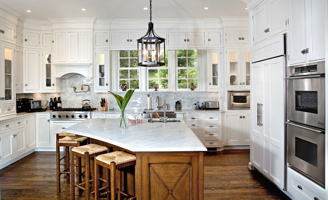 Scullery Kitchen, Greenwich CT - traditional - kitchen - new york