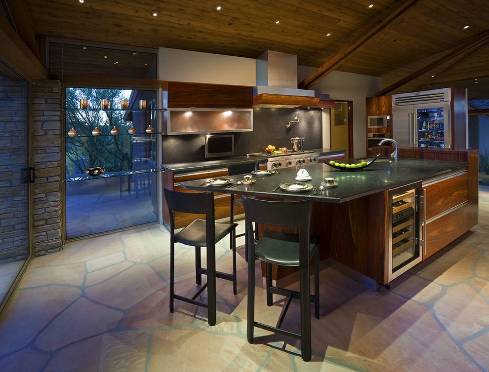 Photo of a contemporary kitchen in Phoenix.