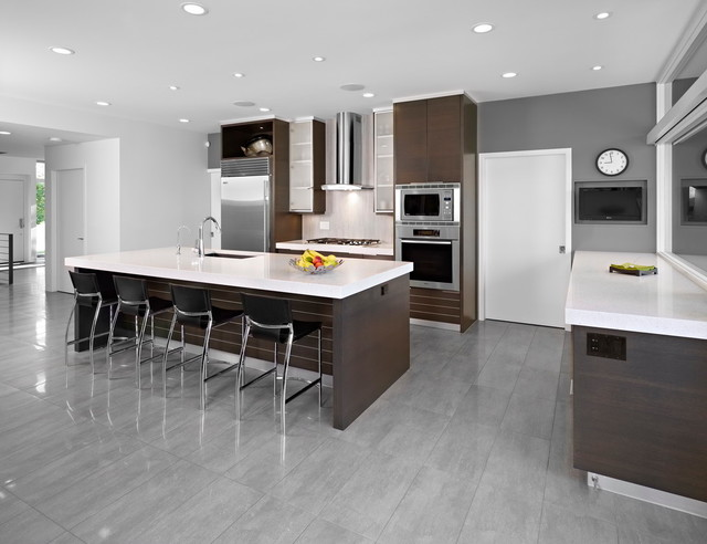 SD House Modern Kitchen Edmonton By Thirdstone Inc