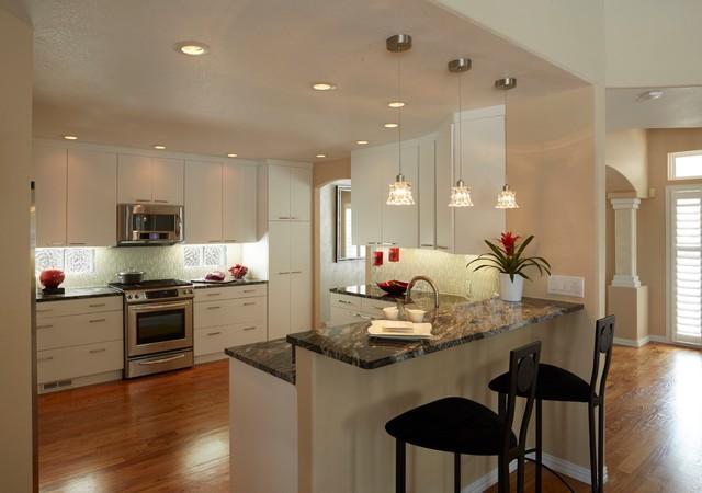 Se denver kitchen remodel contemporary kitchen for Kitchen remodel denver