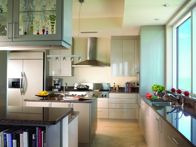 Sea and Sand contemporary-kitchen