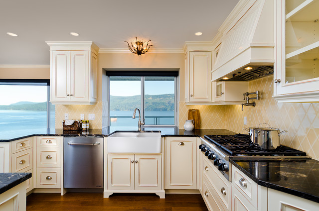 sea view traditional kitchen vancouver by jason good custom