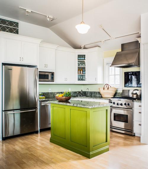 Best cucina verde mela images ideas design 2017 - Cucina verde acido ...